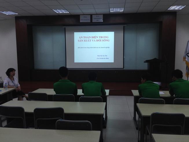 Quy trình huấn luyện an toàn điện