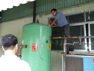 Kiểm định bình nén khí đảm bảo an toàn tuyệt đối cho con người