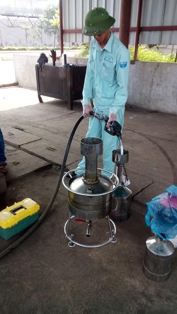 Kiểm định cột bơm xăng dầu